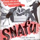 1945  Snafu movie  ad (# 5247)