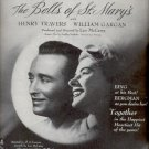 1945  The Bells of St. Mary's movie ad    (# 5226)