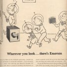 Dec. 13, 1955  Emerson Portable TV Model 1168   ad (# 725)
