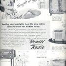 July 22, 1946  Bendix Radio    ad  (#3625)