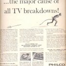 1960 Philco Cool-Chassis TV   ad (# 5286)