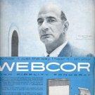 1957  Webcor High Fidelity Fonograf  ad (# 4729)