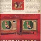 1963  Admiral Color TV  ad (#4291)