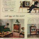 1953  RCA Victor Television ad (# 581)