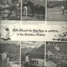 June 1947 Canadian National railway    ad  (#2673)
