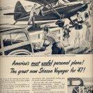April 7, 1947   Stinson Voyager    ad  (#6407)