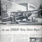 Feb. 17, 1947   Stinson Flying station wagon    ad (#6227)