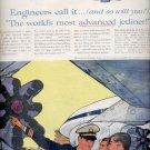 1960 Douglas DC-8 jetliner    ad (# 5341)