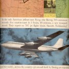 Sept. 9, 1957  Boeing  707    ad (# 4763)