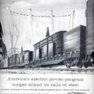 1959  America Moves ahead with the railroads- Association of American Railroads ad (# 4384)
