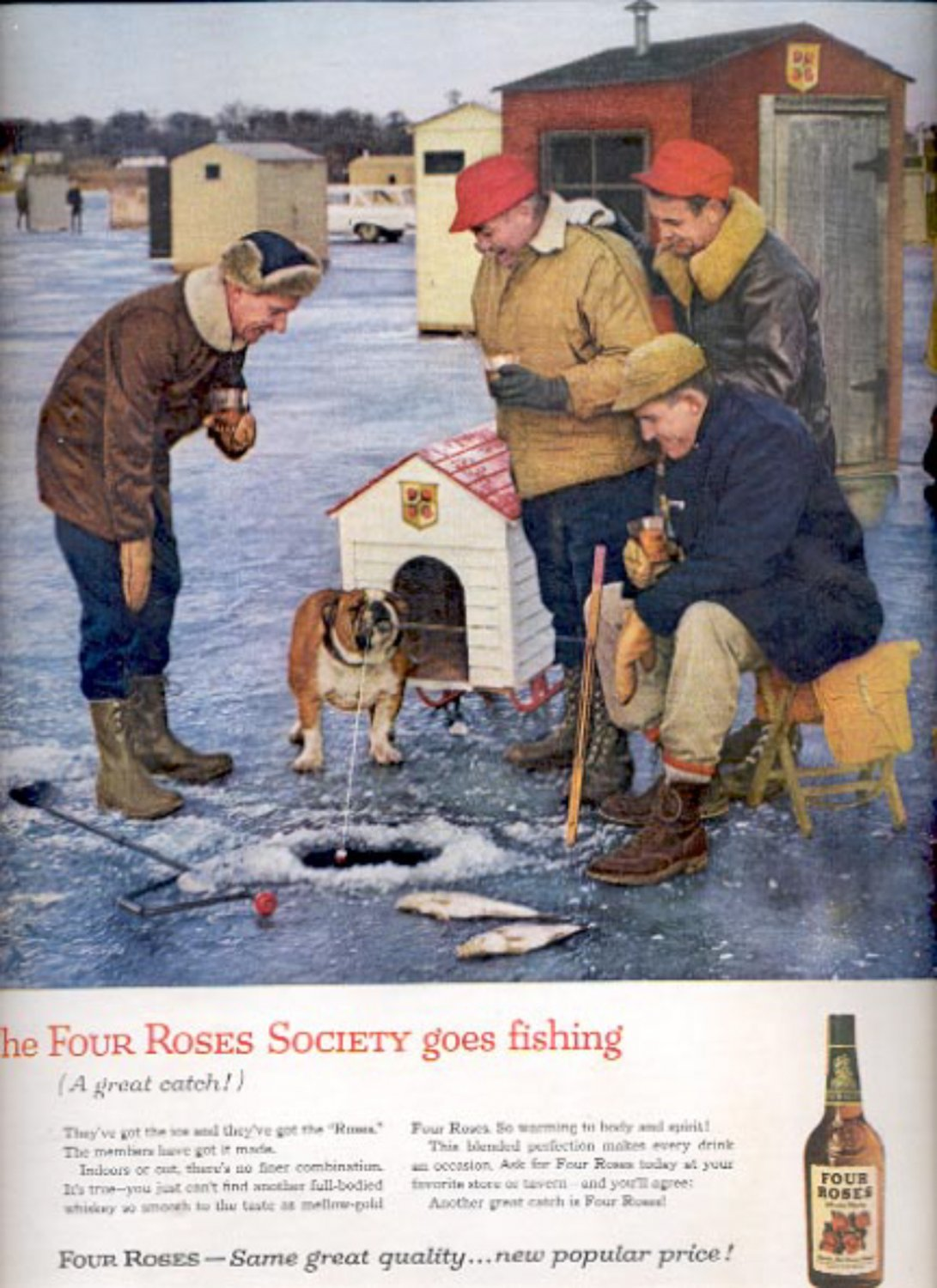 1960  Four Roses Whiskey  ad (#5373)