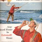 1960 Falstaff Beer  ad (# 5361)