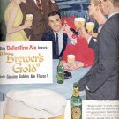 1957  Ballantine Light Ale- Brewer's Gold   ad (# 4792)