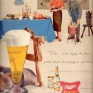 1957  Miller High Life Beer ad (# 4742)