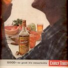 1957 Early Times Bourbon Whisky  ad (# 4689)