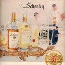 1957  Schenley Summertime elegance Gin ad (# 4675)