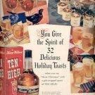 1940   Hiram Walker's Ten High Whiskey  ad (# 4393)