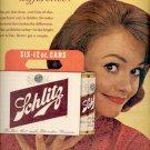 1961  Schlitz Beer  ad (#4062)