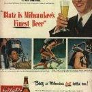 1948  Blatz   Beer ad (# 513)
