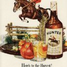 1947 Hunter Whiskey ad (#810)