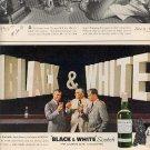 1962 Black & White Scotch ad (#  2016)