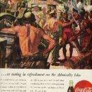 1945 Coca- Cola ad ( # 424)