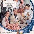 1949  Pabst Blue Ribbon Beer ad (# 1644)