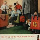 1960 Four Roses Whiskey ad (# 1067)