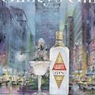 1962  Gilbey's Gin ad (  #  2106)