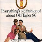 1965  Old Taylor 86 ad ( #  2755)