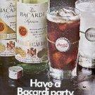1970   Bacardi Rum  ad (   # 2944)