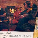 1963  Miller High Life Beer ad (  # 1578)