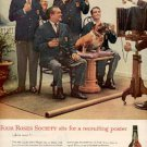 1960 Four Roses Whiskey ad (  #  2509)
