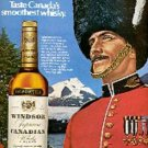 1972  Windsor Canadian Whisky ad (  # 1531)