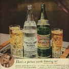 1943  Canada Dry Water & Ginger Ale ad (  # 1266)