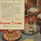 1945  Seagram's 5 Crown  ad (# 906)