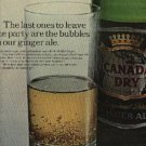 1965 Canada Dry Ginger Ale ad (#  918)