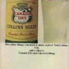 1964  Canada Dry Collins Mixer ad (  #  901)