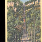 The Steep Grade, Incline railway up Lookout Mountain-  Postcard- (# 25)