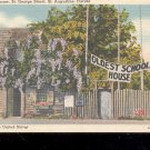 The Oldest School House,  Fl-  Postcard- (# 45)