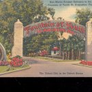 San Marco Ave. Entrace to Fountain- Postcard- (# 10)