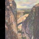 Rock Formation in Rock City Gardens-  Postcard- (# 92)