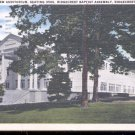Ridgecrest Baptist Assembly Auditorium- N.C.-   Postcard- (# 27)