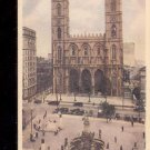 Notre Dame Church, Montreal, Canada-  Postcard- (# 100)