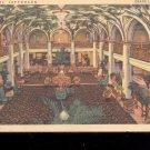 New Hotel Jefferson Grand Lobby - ST. Louis, MO- Postcard- (# 97)