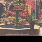 Little Theatre Courtyard-New Orleans Postcard- (# 21)