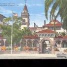 Hotel, Ponce De Leon,  St. Augustine, Fl.-  Postcard- (# 37)