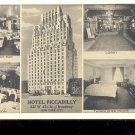 Hotel Piccadilly-   Picture Postcard- (# 48)