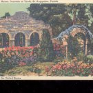 Exterior of Spring House , Fountain of Youth-  Postcard- (# 65)
