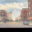 Broughton Street,  Savannah, GA-  Postcard- (# 22)